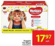 Huggies 10x Wipes
