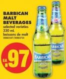 Barbican Malt Beverages - 330 mL