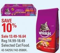 Whiskas Selected Cat Food