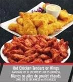 Fresh 2 Go Hot Chicken Tenders Or Wings