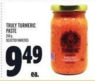 Truly Turmeric Paste