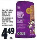 Silver Hills Bakery Sprouted Organic Bread 510 - 680 g