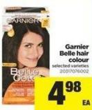 Garnier Belle Hair Colour