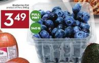 Blueberries Pint Product of Peru 340 g