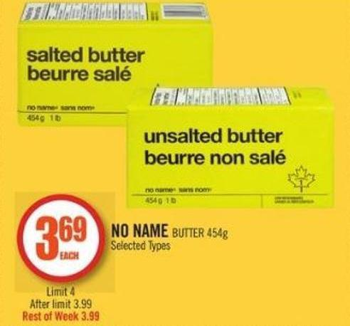 No Name Butter