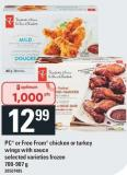 PC Or Free From Chicken Or Turkey Wings With Sauce - 700-907 G