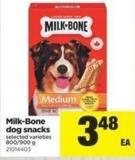 Milk-bone Dog Snacks - 800/900 g