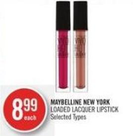 Maybelline New York Loaded Lacquer Lipstick