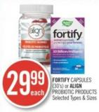 Fortify Capsules (30's) or Align