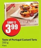 Taste of Portugal Custard Tarts 350 g