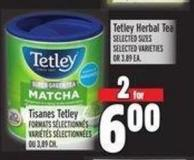 Tetley Herbal Tea