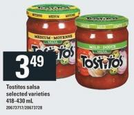 Tostitos Salsa - 418-430 mL