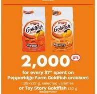 Pepperidge Farm Goldfish Crackers 128-227 G Or Toy Story Goldfish 180 G