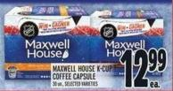 Maxwell House K-cup Coffee Capsule 30 Un. -