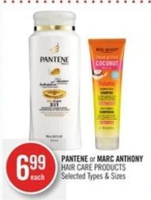 Pantene or Marc Anthony Hair Care Products