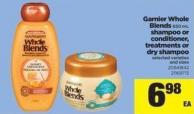 Garnier Whole Blends - 650 Ml Shampoo Or Conditioner - Treatments Or Dry Shampoo