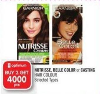 Nutrisse - Belle Color or Casting Hair Colour