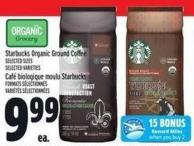 Starbucks Organic Ground Coffee