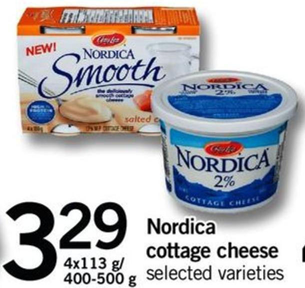 Nordica Cottage Cheese - 4x113 G/ 400-500 G