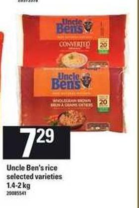 Uncle Ben's Rice - 1.4-2 Kg