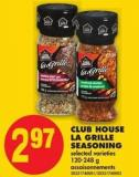 Club House La Grille Seasoning - 120-248 g