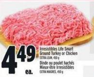 Irresistibles Life Smart Ground Turkey Or Chicken