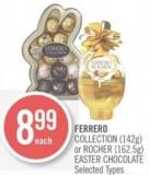 Ferrero Collection (142g) or Rocher (162.5g) Easter Chocolate