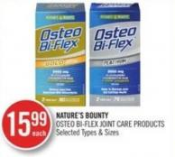 Nature's Bounty Osteo Bi-flex Joint Care Products