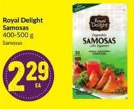 Royal Delight Samosas 400-500 g