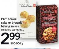 PC Cookie - Cake Or Brownie Baking Mixes - 300-900 G