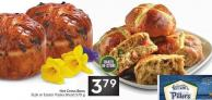 Hot Cross Buns 8 Pk or Easter Paska Bread 570 g