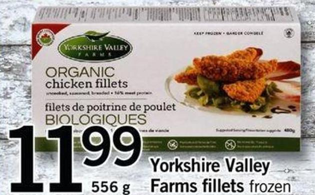 Yorkshire Valley Farms Fillets - 556 G