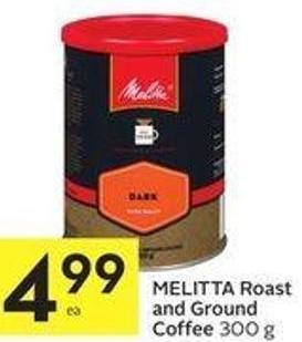 Melitta Roast and Ground Coffee 300 g