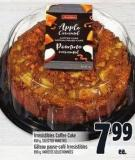 Irresistibles Coffee Cake