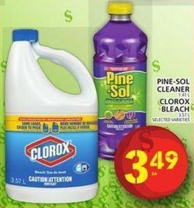 Pine-sol Cleaner Or Clorox Bleach