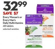 Every Woman's or  Every Man's  Daily Multivitamins 48 Tablets