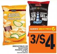 Irresistibles Or Selection Potato Chips