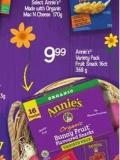 Annie's Variety Pack Fruit Snack 16ct - 368 g