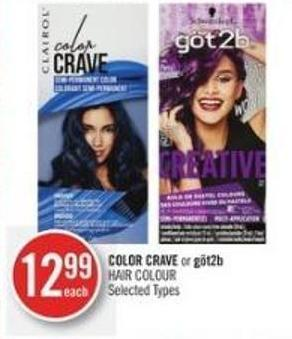 Color Crave or Göt2b Hair Colour