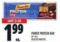 Power Protein Bar 60 - 61 g