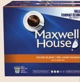 Maxwell House Blend Coffee Pods - 60-ct