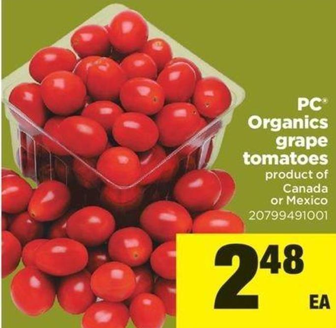 PC Organics Grape Tomatoes