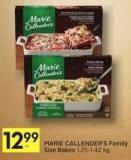 Marie Callender's Family Size Bakes