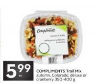 Compliments Trail Mix Autumn - Colorado - Deluxe or Cranberry 350-400 g