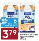Burnbrae Farms Egg Creations! 500 g - 6 Air Miles Bonus Miles