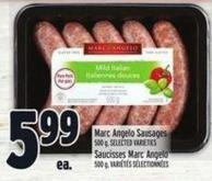 Marc Angelo Sausages