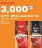 Tim Hortons Ground Coffee