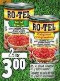 Rotel Diced Tomatoes 283 g