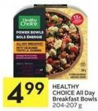 Healthy Choice All Day Breakfast Bowls