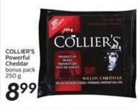 Collier's Powerful Cheddar